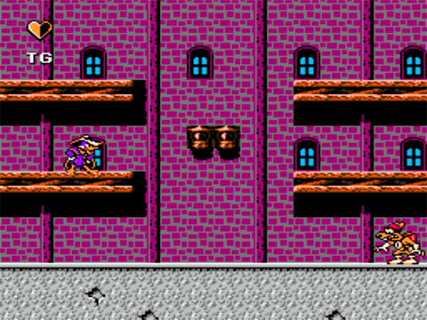 Игра Darkwing Duck для NES