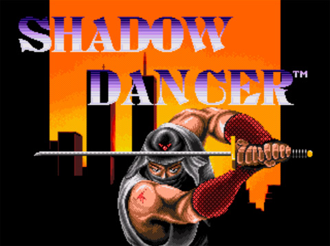 Игра Shadow Dancer для Sega Megadrive